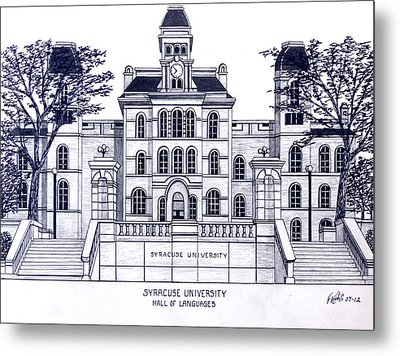 Syracuse University Metal Print