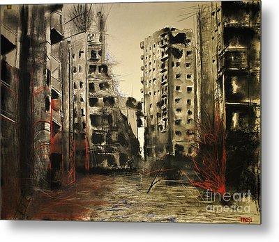 Syria Metal Print by Maja Sokolowska
