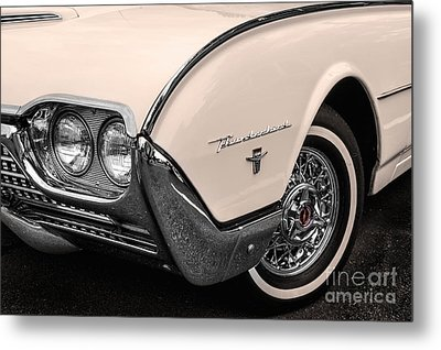 T-bird Fender Metal Print