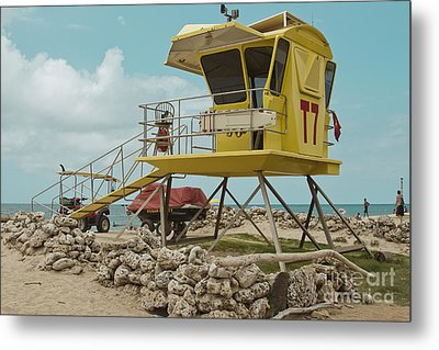 T7 - Baldwin Beach Park Maui Metal Print by Sharon Mau