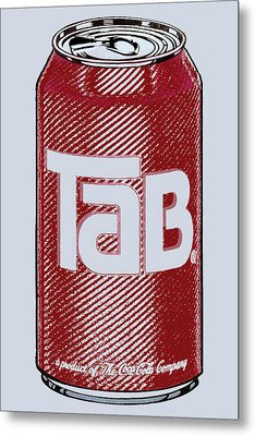 Tab Ode To Andy Warhol Metal Print by Tony Rubino
