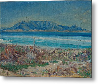 Table Mountain Cape Town Metal Print by Thomas Bertram POOLE