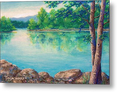 Tablerock Cove Metal Print
