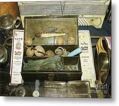 Tackle Box Metal Print