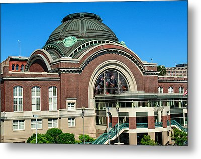 Tacoma Court House At Union Station Metal Print