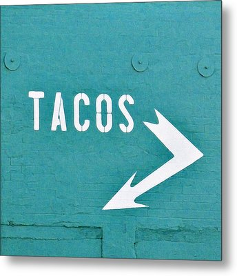 Tacos Metal Print by Art Block Collections