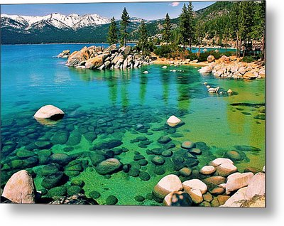 Tahoe Bliss Metal Print by Benjamin Yeager