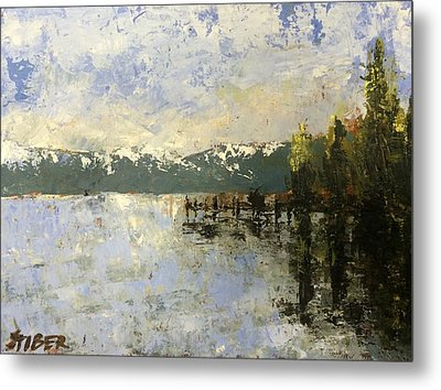 Tahoe Sunrise Metal Print