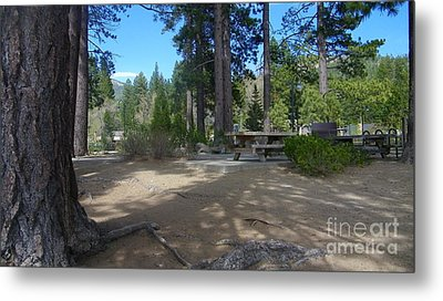 Metal Print featuring the photograph Tahoe's Summer Invitation by Bobbee Rickard