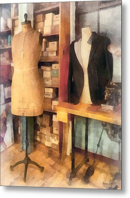 Tailor - A Pair Of Dummies Metal Print