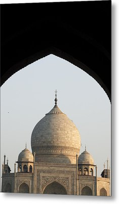 Taj And Arch Metal Print