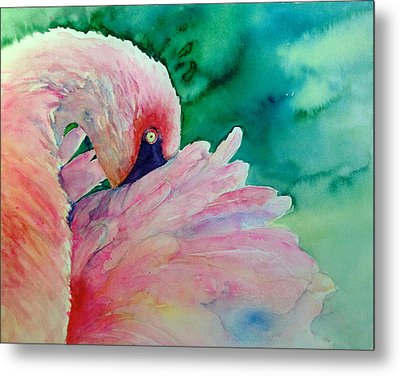 Take Five Metal Print by Cynthia Roudebush