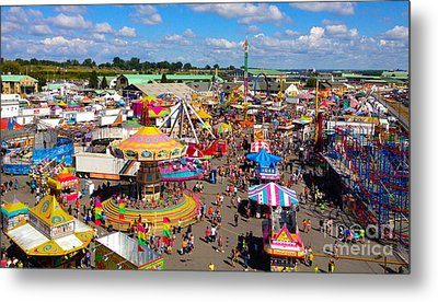 Take Me Out To The Fair Metal Print