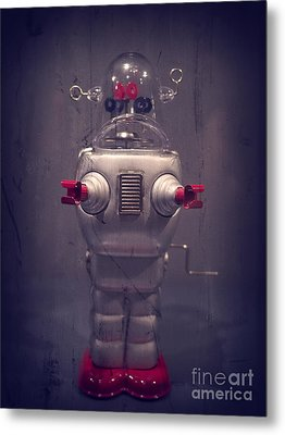 Take Me To Your Leader Metal Print by Edward Fielding