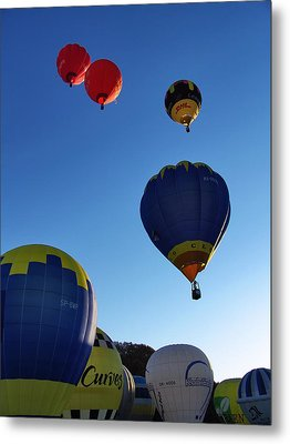 Metal Print featuring the photograph Take Off by John Swartz