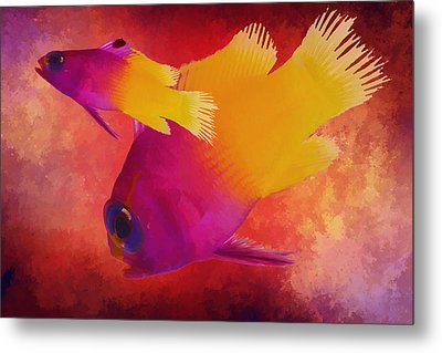Take The Plunge Metal Print by Kandy Hurley