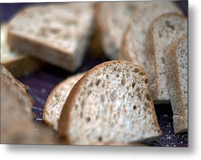 Take This Bread And Eat It Metal Print