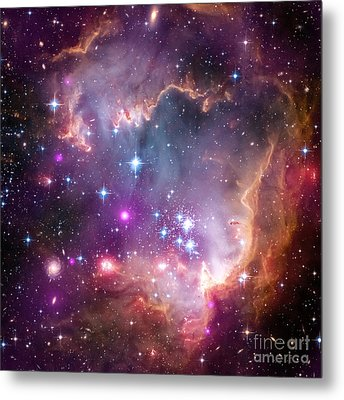 Metal Print featuring the  Taken Under The Wing Of The Small Magellanic Cloud by Paul Fearn