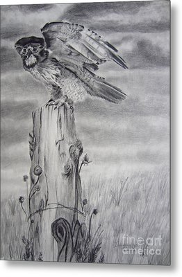 Taking Flight Metal Print by Laurianna Taylor