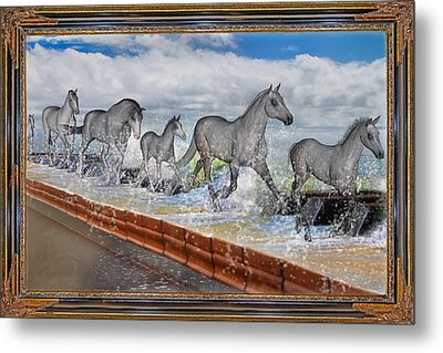 Taking Note Metal Print