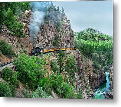 Taking The Highline Home Metal Print by Ken Smith