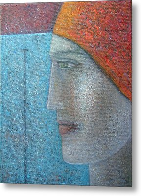 Taking The Plunge, 2012, Oil On Canvas Metal Print
