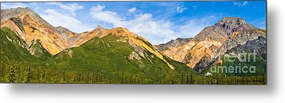Talkeetna Mountains Metal Print by Chris Heitstuman