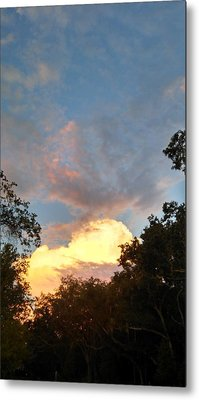 Metal Print featuring the photograph Talking Clouds by Jean Marie Maggi
