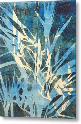 Tall Grass 2 Metal Print by Valerie Lynch