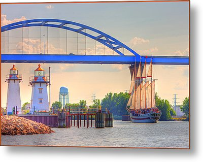 Tall Ship Metal Print by Fuad Azmat