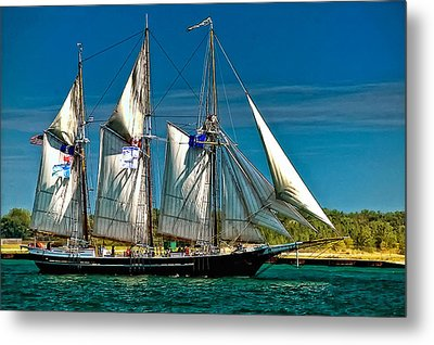 Tall Ship Metal Print by Steve Harrington