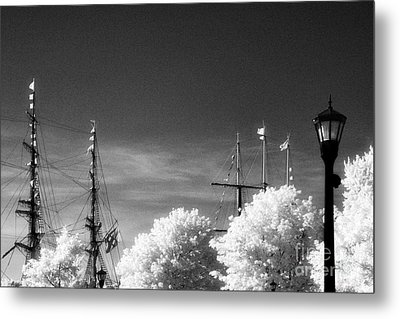 Tall Ships Metal Print by Jeff Holbrook