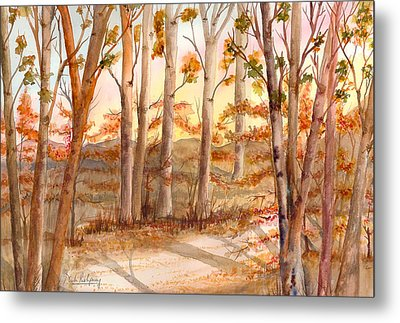 Tall Trees Metal Print by Neela Pushparaj