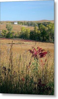 Tallgrass Prairie Metal Print by Jim West