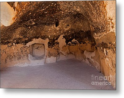 Talus Housefront Room Bandelier National Monument Metal Print