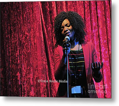 Metal Print featuring the photograph Tamara Stephens by Tonia Noelle