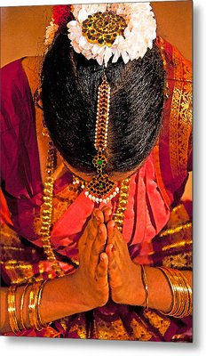 Tamil Nadu Dancer Metal Print