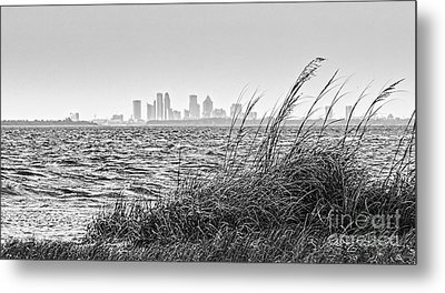 Tampa Across The Bay Metal Print by Marvin Spates