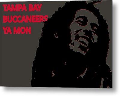 Tampa Bay Buccaneers Ya Mon Metal Print by Joe Hamilton