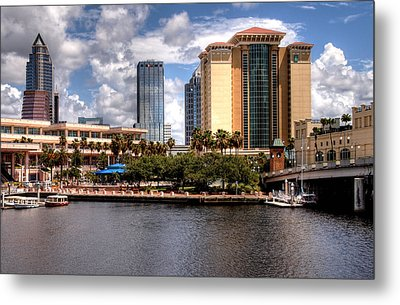 Metal Print featuring the photograph Tampa by Jim Hill