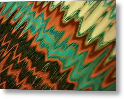 Tampa Reflection Abstract II Metal Print by Daniel Woodrum