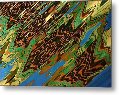 Metal Print featuring the photograph Tampa Reflection Abstract IIi by Daniel Woodrum