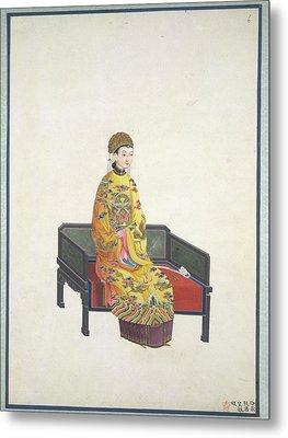 Tang Empress Metal Print