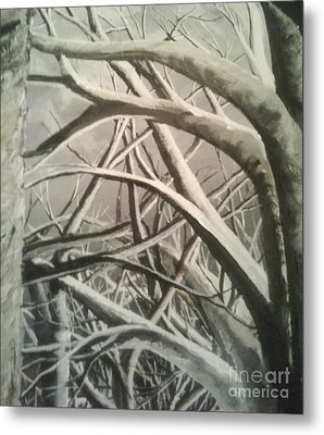 Tangle Metal Print by Pheonix Creations