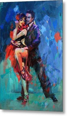 Tango 5 Metal Print by Mahnoor Shah
