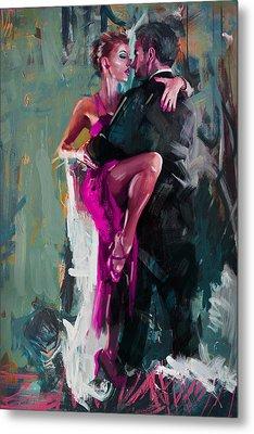 Tango 6 Metal Print by Mahnoor Shah