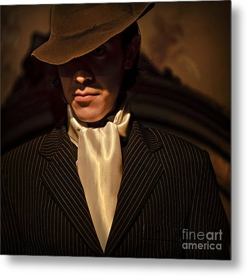Metal Print featuring the photograph Tango - El Hombre by Michel Verhoef