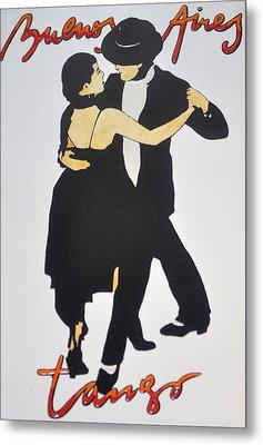 Tango In Buenos Aires Metal Print