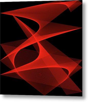 Tango Metal Print by Karo Evans