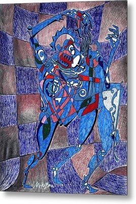 Tango Metal Print by Art By Miko